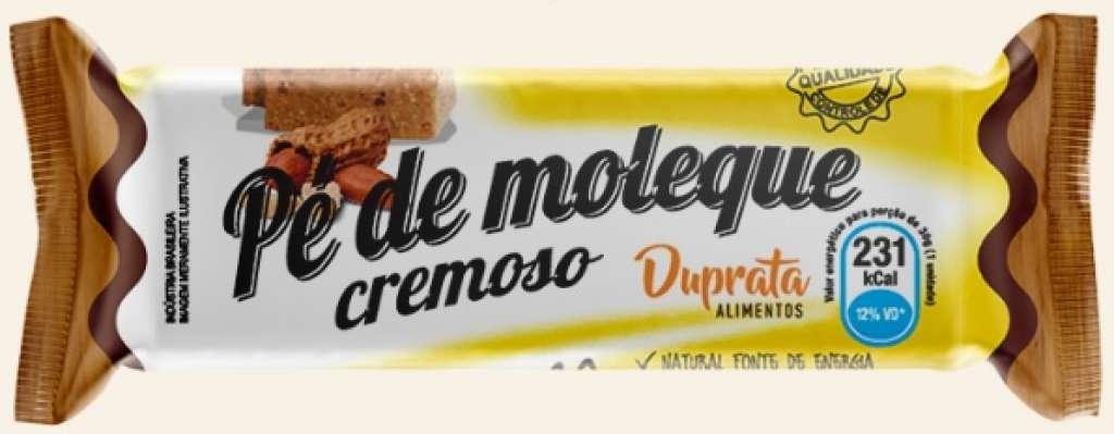 DUPRATA - PE DE MOLEQUE COM ACUCAR 30G - CX.12X24UN